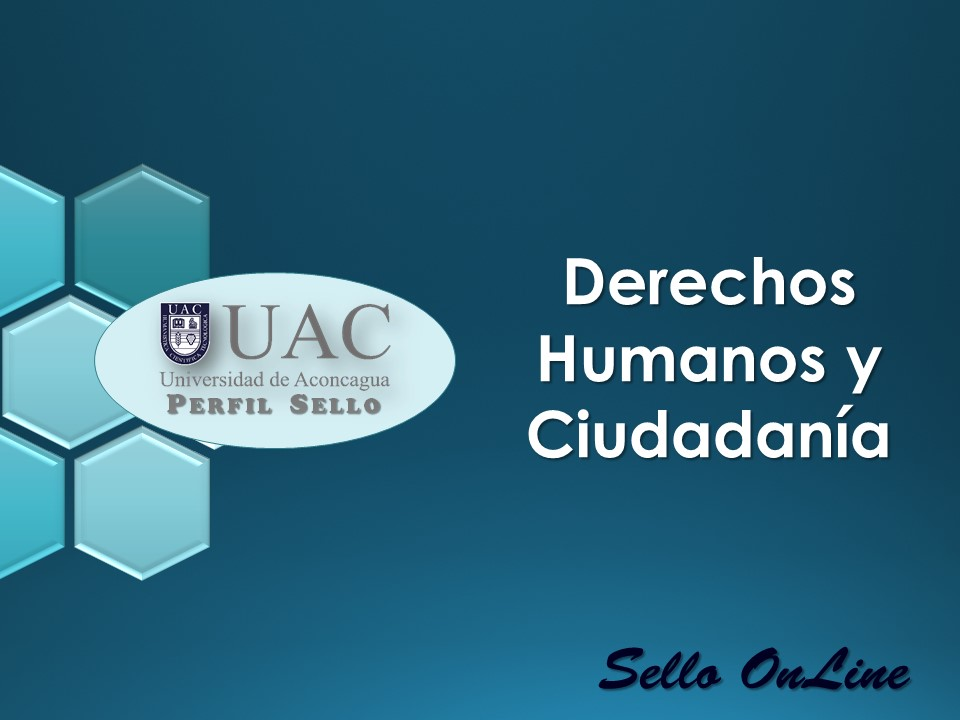 Curso Sello - Derechos Humanos y Ciudadanía