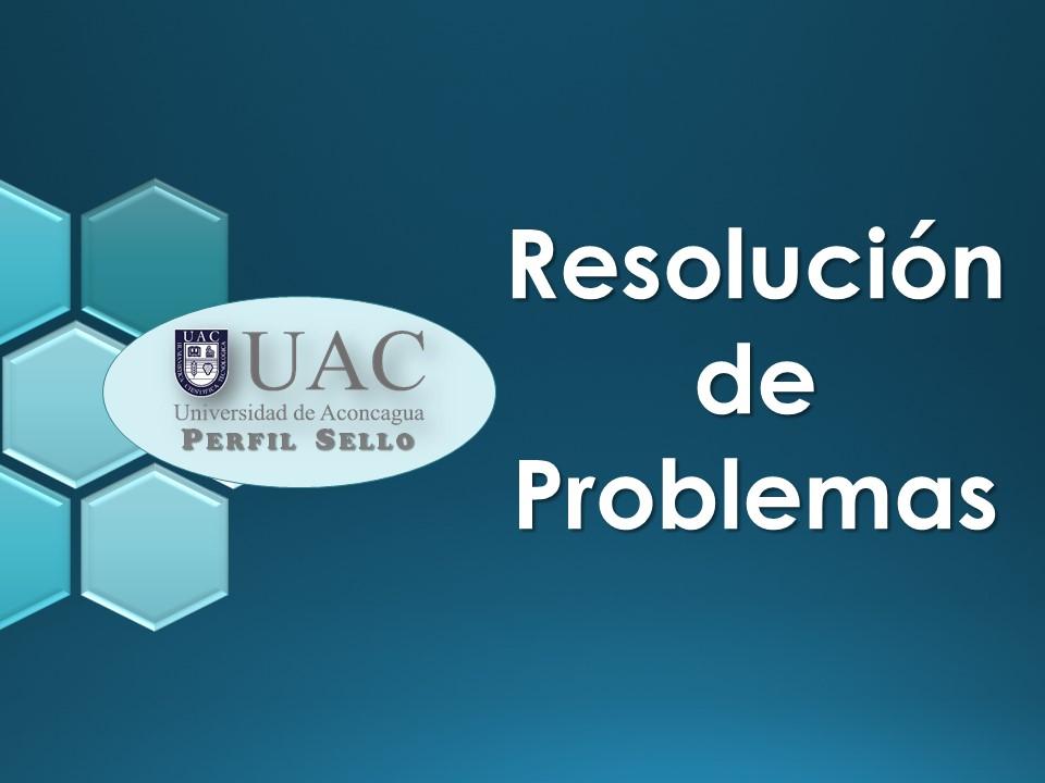 Curso Sello - Resolución de Problemas