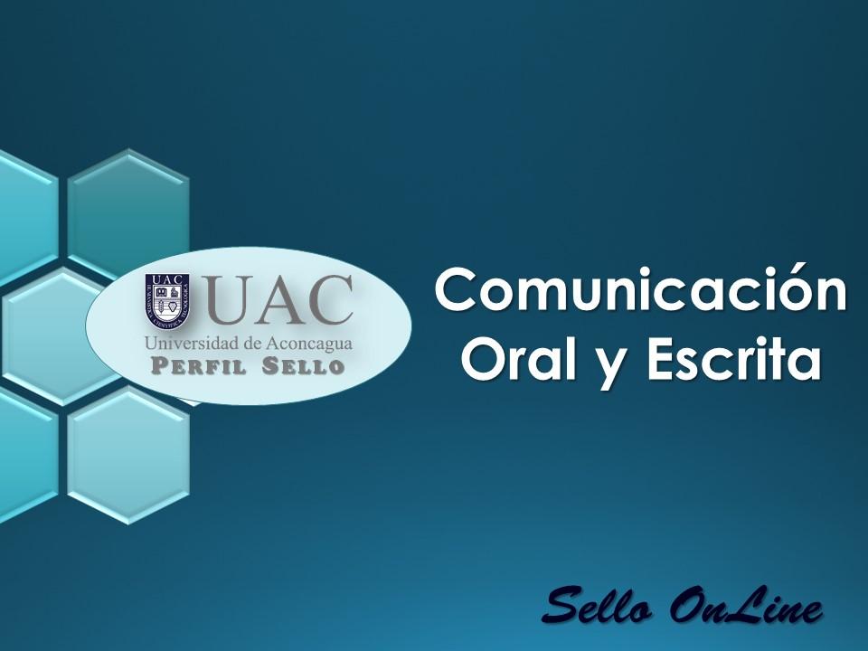 Curso Sello - Comunicación Oral y Escrita